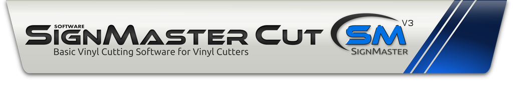 Vinyl cutting software for sign cutters plotters cut logo